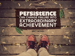 Persistence - Motivational/Inspirational Wallpaper (Downloadable JPEG)