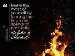 Make the Most of Yourself - Motivational/Inspirational Wallpaper (Downloadable JPEG)