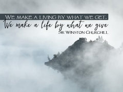 We Make a Living - Motivational/Inspirational Wallpaper (Downloadable JPEG)