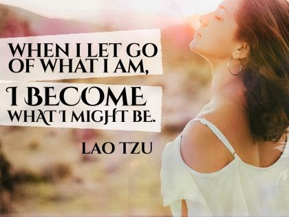 What I Let Go - Motivational/Inspirational Wallpaper (Downloadable JPEG)