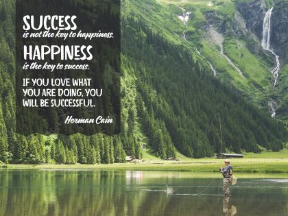 Success Is Not the Key - Motivational/Inspirational Wallpaper (Downloadable JPEG)