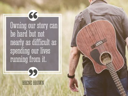 Owning Your Story - Motivational/Inspirational Wallpaper (Downloadable JPEG)