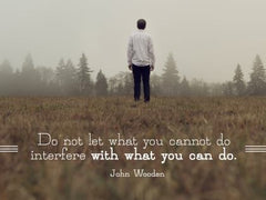 Do Not Let What You Cannot Do - Motivational/Inspirational Wallpaper (Downloadable JPEG)