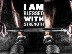 I Am Blessed - Motivational/Inspirational Wallpaper (Downloadable JPEG)
