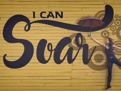 I Can Soar - Motivational/Inspirational Wallpaper (Downloadable JPEG)