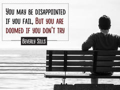 You May Be Disappointed - Motivational/Inspirational Wallpaper (Downloadable JPEG)