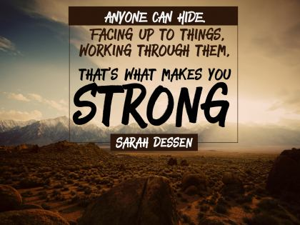 Anyone Can Hide - Motivational/Inspirational Wallpaper (Downloadable JPEG)