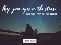 Keep Your Eyes - Motivational/Inspirational Wallpaper (Downloadable JPEG)