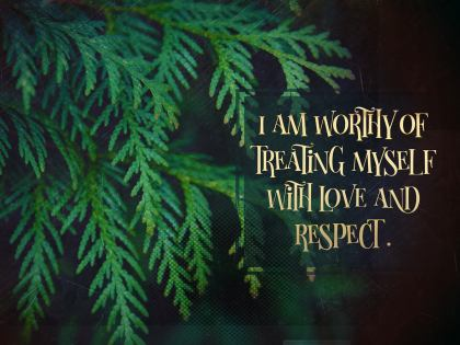 I Am Worthy - Motivational/Inspirational Wallpaper (Downloadable JPEG)