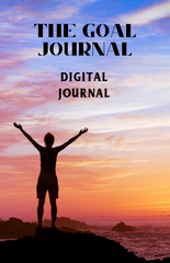 The Goal Journal – Digital Journal - (Downloadable – PDF)