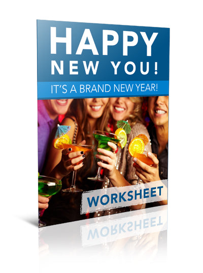 Happy New You! It's a Brand New Year! - Worksheet - (Downloadable – PDF)