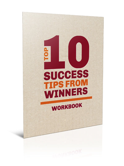 The Top 10 Success Tips of Winners - Worksheet - (Downloadable – PDF)