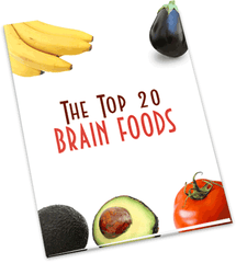 Top 20 Brain Enhancing Foods - eBook – (Downloadable – PDF)