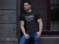 Created With A Purpose - Cotton T-Shirt