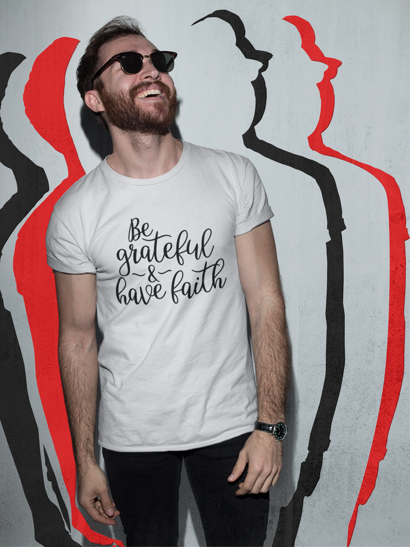 Faith - Cotton T-Shirt