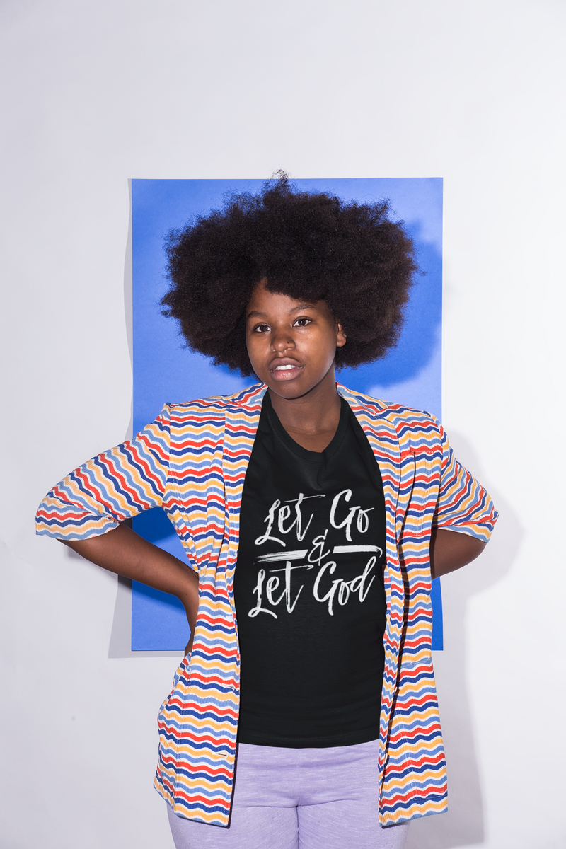 Let Go & Let God - Cotton T-Shirt