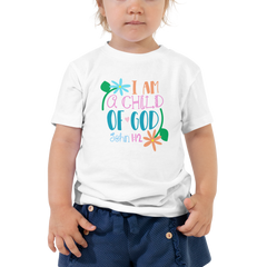 I Am a Child of God - Toddler Short Sleeve Tee