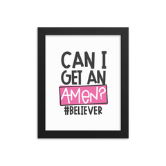 I Can Do All Things Through Christ  - Framed Poster