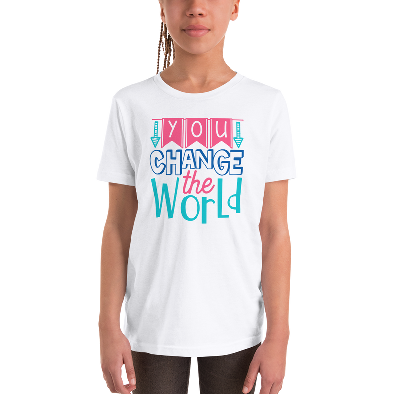 You Change the World - Youth Short Sleeve T-Shirt