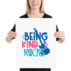 Being Kind Rocks - Poster