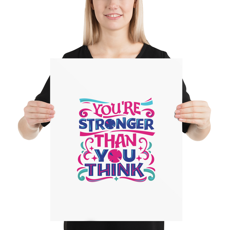 You're Stronger Than You Think - Poster