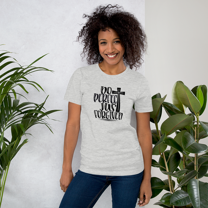 Not Perfect Just Forgiven  - Cotton T-Shirt