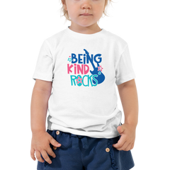 Being Kind Rocks - Toddler Short Sleeve Tee