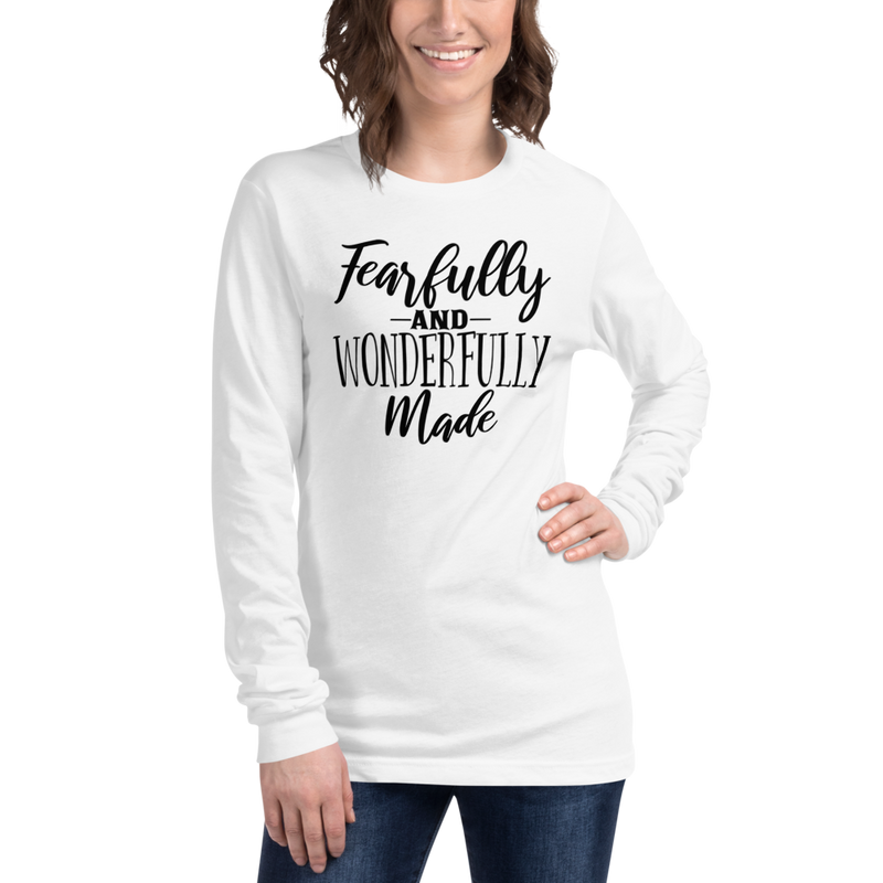 Fearfully and Wonderfully Made - Long Sleeve T-Shirt