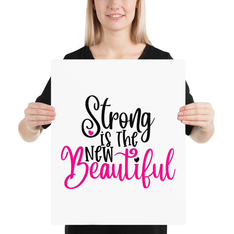 Strong Is the New Beautiful - Poster