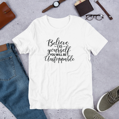 Believe In Yourself - Cotton T-Shirt