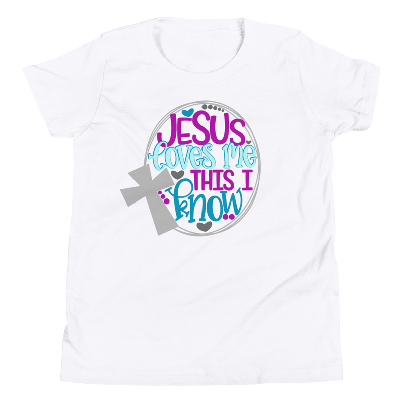 Jesus Loves Me This I Know - Youth Short Sleeve T-Shirt