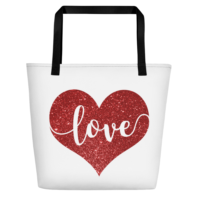 Love - Beach Bag