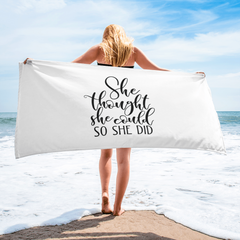 GateWay of Hope - Beach Towel