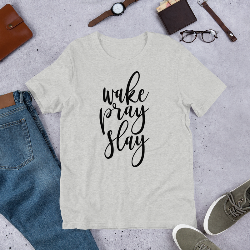 Wake Pray Slay - Cotton T-Shirt