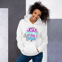 Because Adulting Is Hard Without Jesus - Hoodie