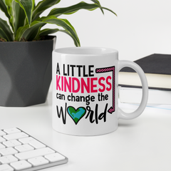 A Little Kindness Can Change the World - Pink - Coffee Mug