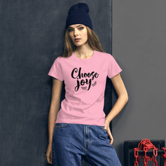 Choose Joy - Women's Cotton T-Shirt