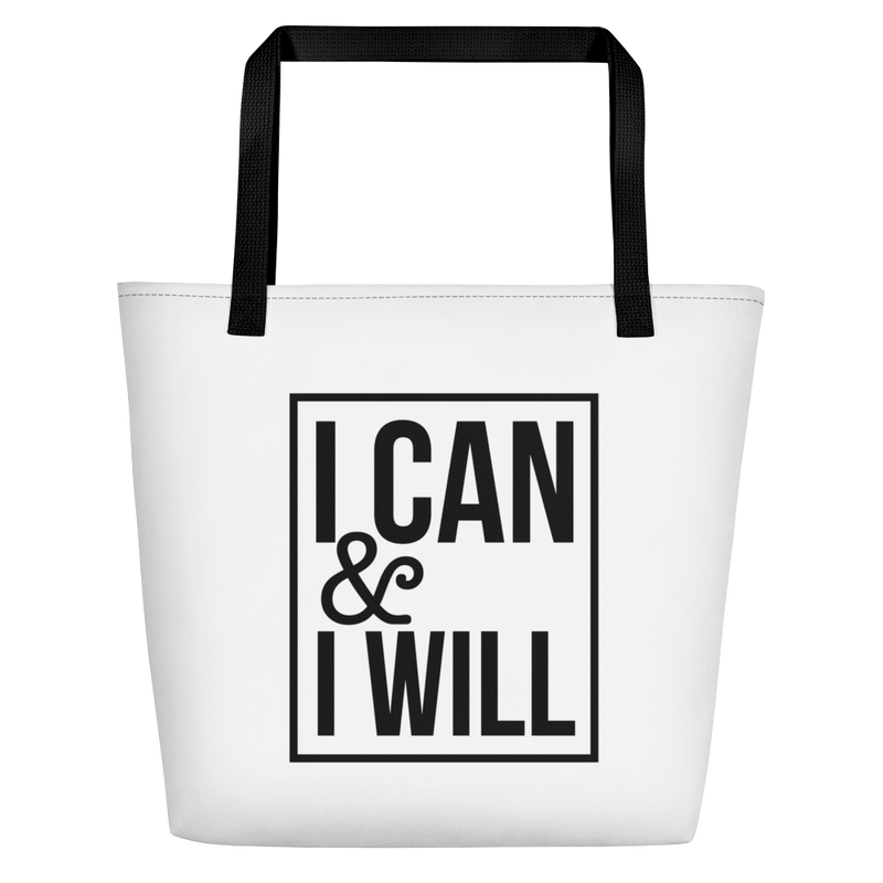I Can & I Will - Beach Bag
