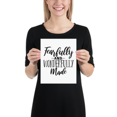 Fearfully and Wonderfully Made - Poster