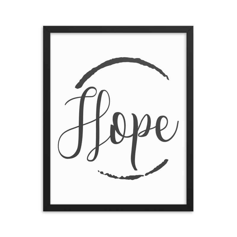 Hope - Framed Poster