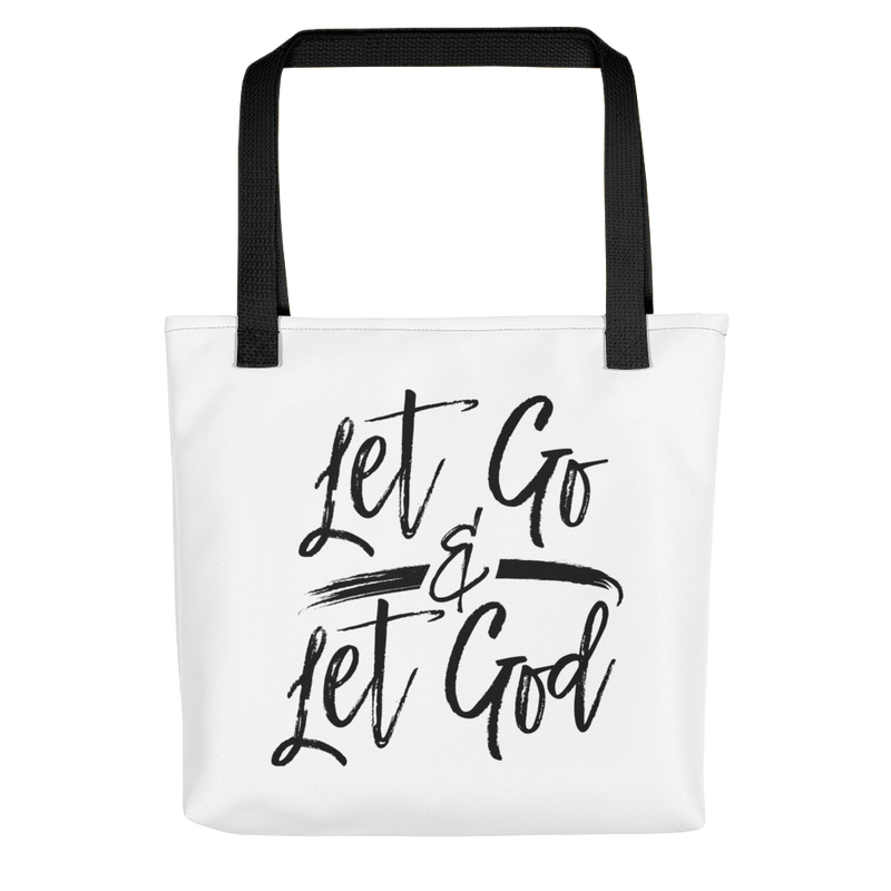 Let Go & Let God - Tote Bag