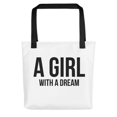 A Girl with a Dream - Tote Bag