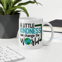 A Little Kindness Can Change the World - Blue - Coffee Mug