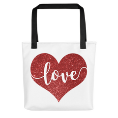 LOVE Heart - Tote Bag
