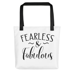 Fearless & Fabulous - Tote Bag