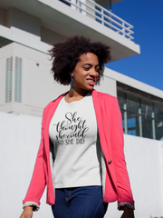 She Thought She Could - Cotton T-Shirt