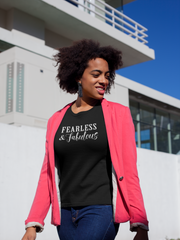 Fearless & Fabulous - Cotton T-Shirt