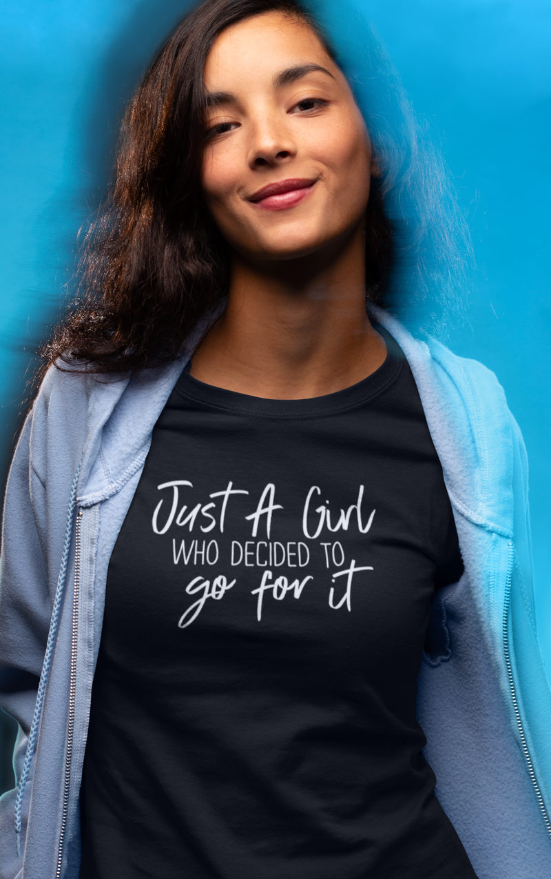 Just A Girl - Cotton T-Shirt