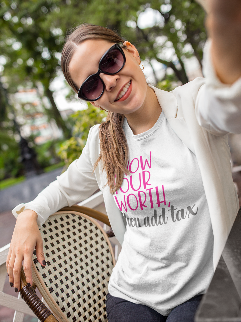 Know Your Worth - Cotton T-Shirt