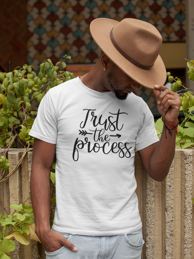 Trust The Process - Cotton T-Shirt
